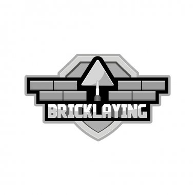 bricklaying logo for the group of workers
