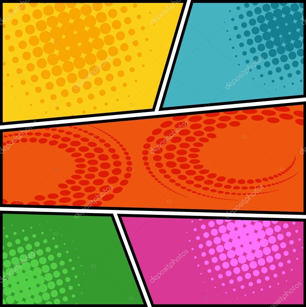 comic template vector pop art stock vector jirawat 102155908