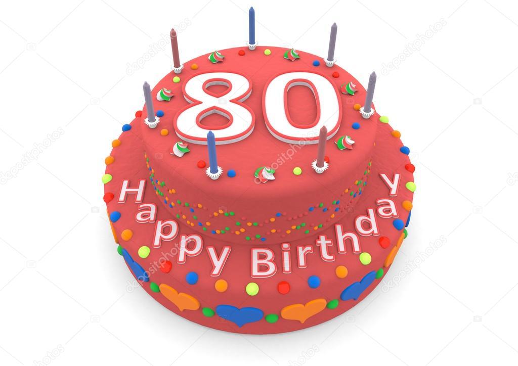 Enjoyable Rode Verjaardagstaart Stockfoto C Jonaswolff 73808661 Personalised Birthday Cards Sponlily Jamesorg