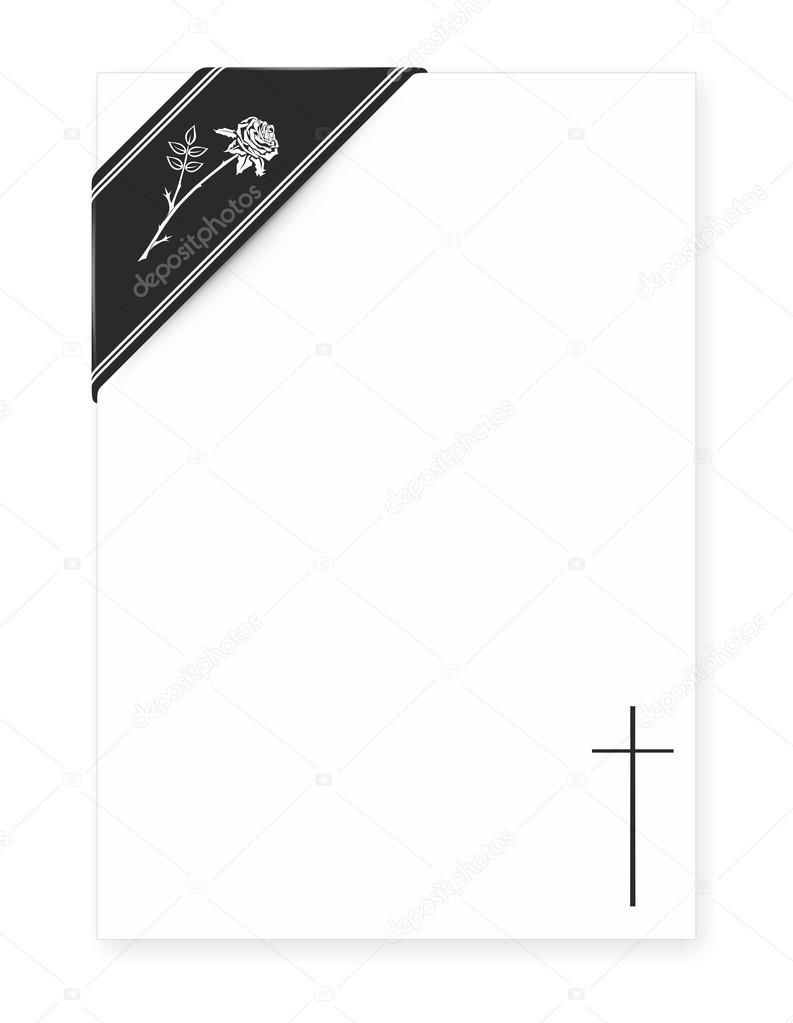 plantillas para esquelas — Foto de stock © fffranzzz #94509666