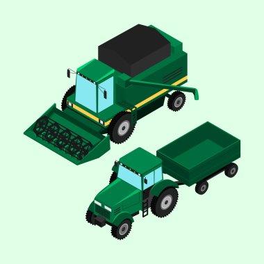 Vector illustration. farm