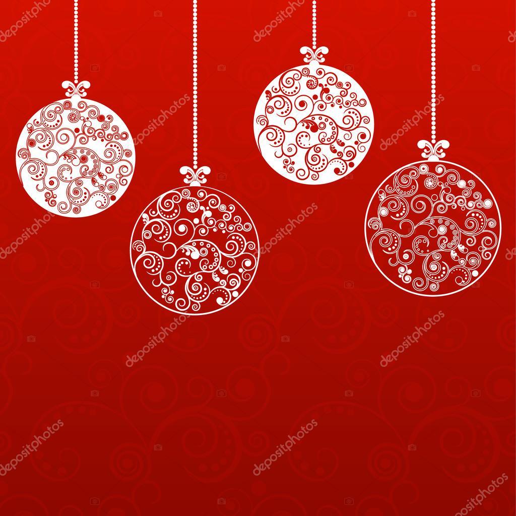 Immagini Natalizie Stilizzate.Palle Di Natale Stilizzato Vettoriali Stock C Kalen 119004786