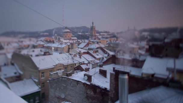 Roofs of the Old Town Tilt-Shift