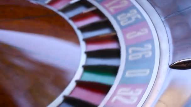 Kolo americké rulety v kasinu