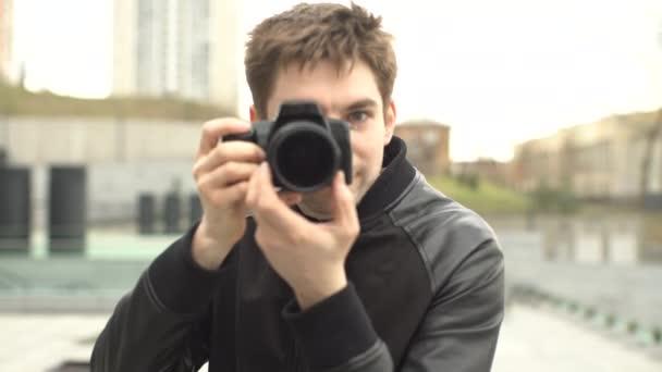 fotografie fotografo uomo bello