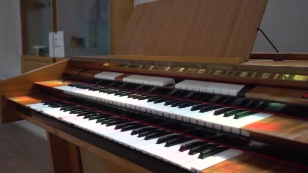 Nahaufnahme der Hammondorgel