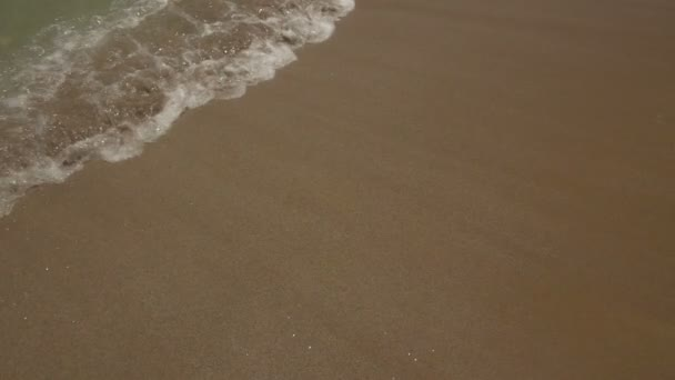 Tengeri hullámok a Homokos part felett.