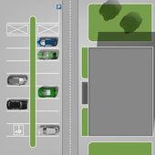 Městské parkovací obrázek