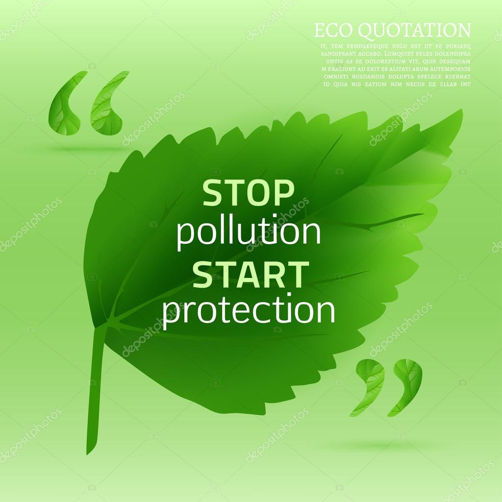 Eco quote