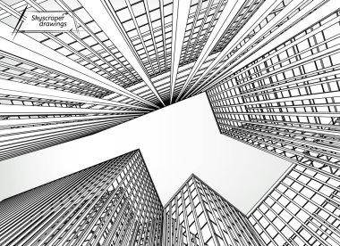 Skyscrapers landscape