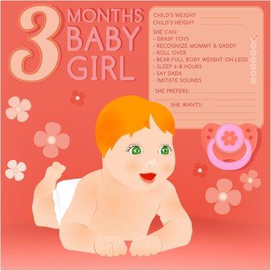 Three months baby