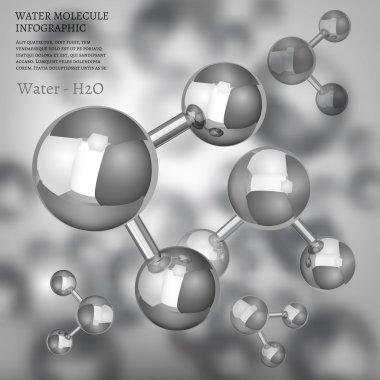 Metallic Water molecule