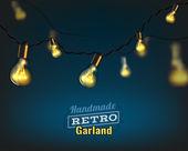 Photo lighting garland