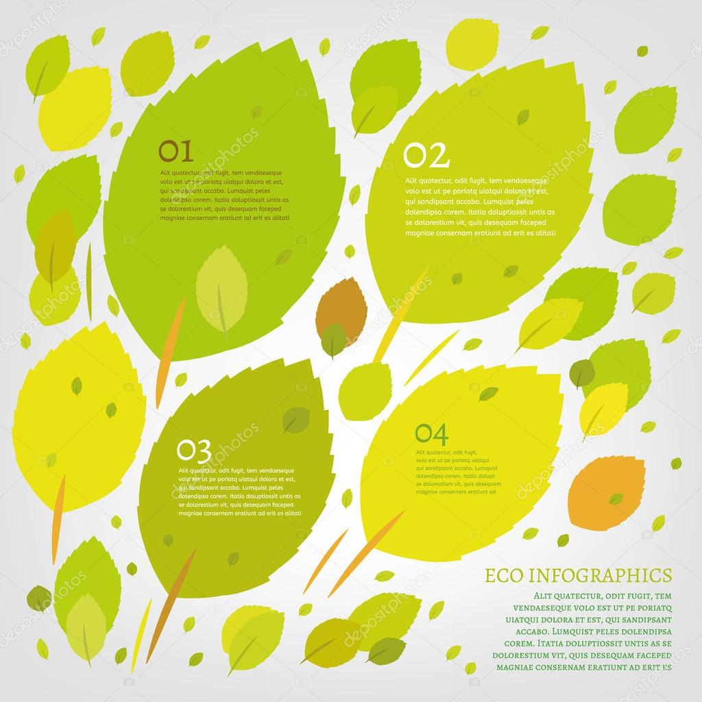 Leaf infographic