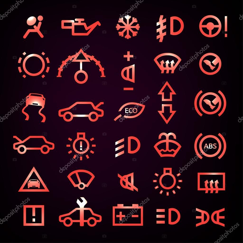 Auto Symbolen Dashboard Archidev
