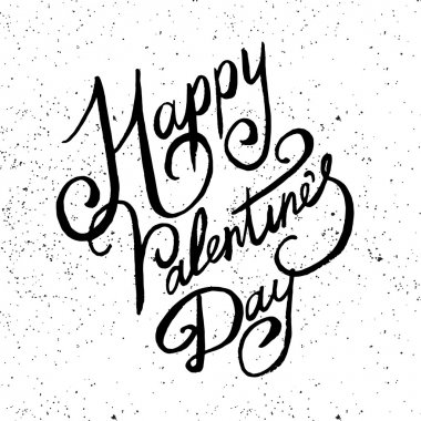 Valentine Lettering vector