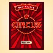 Fotografia Manifesto del circo di vettore