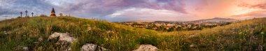 Sunset over Calvary