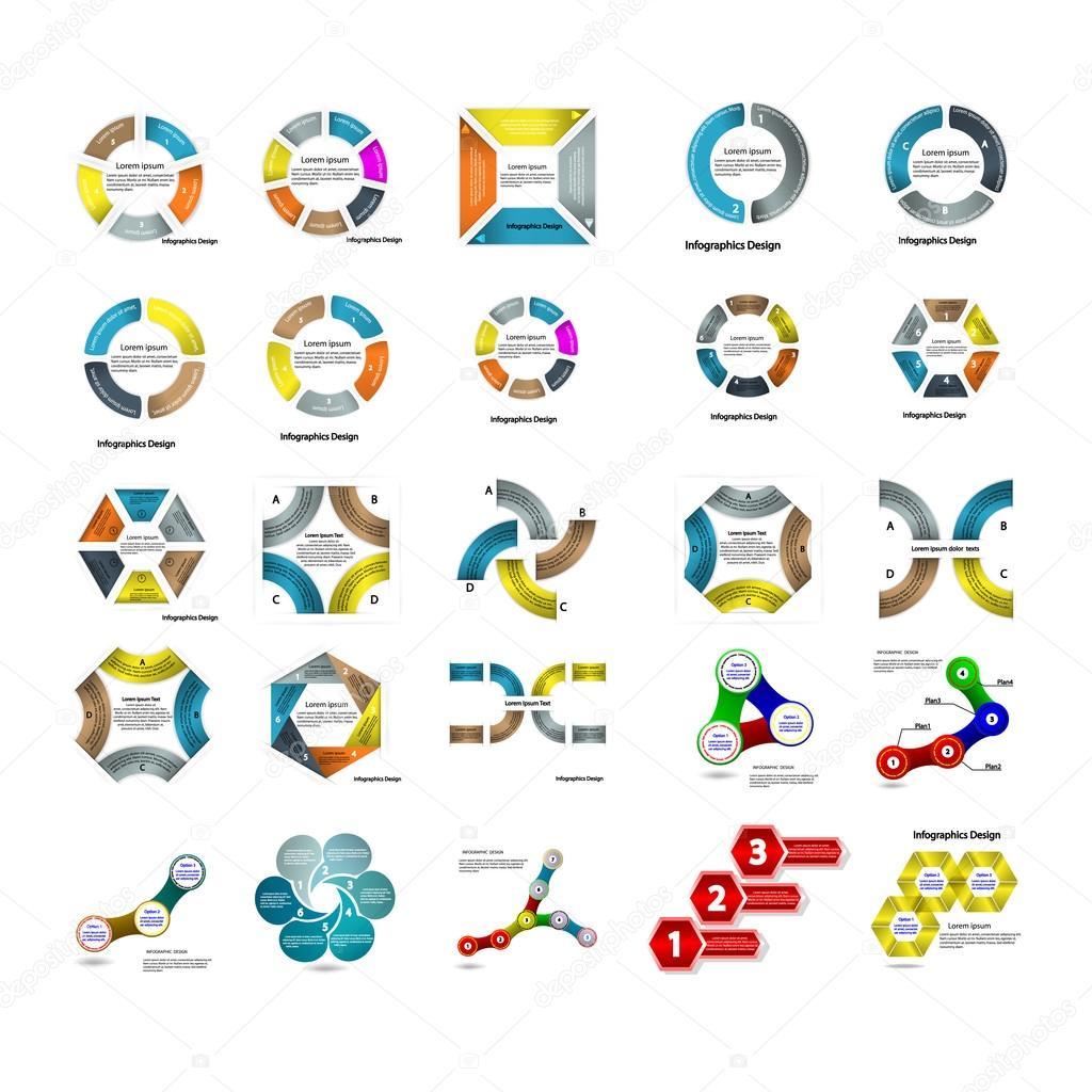 インフォ グラフィック ビジネス プレゼンテーション テンプレートの