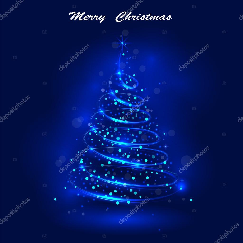 Buon Natale 883.Brillante Dell Albero Di Natale L Albero Di Natale Magico Shinny