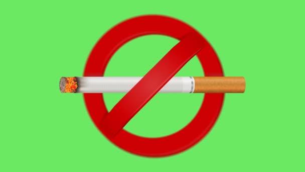 nekouřit znamení animace, nekouřit nekouřit znamení zblízka