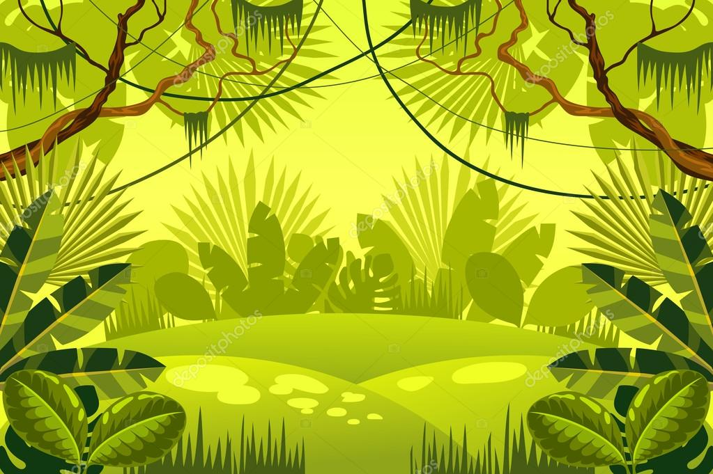 jungle background. forest.