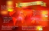 Photo Christmas traditions around the world