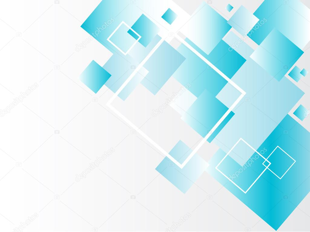 modern abstract background with blue squares � stock