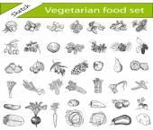 vegetariánské jídlo
