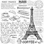 Paříž Eiffelova věž