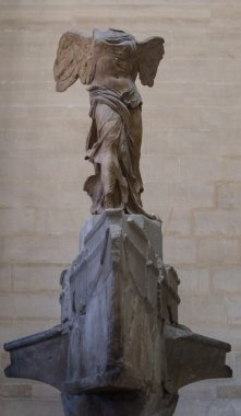 The Winged Victory of Samothrace, also called the Nike of Samoth