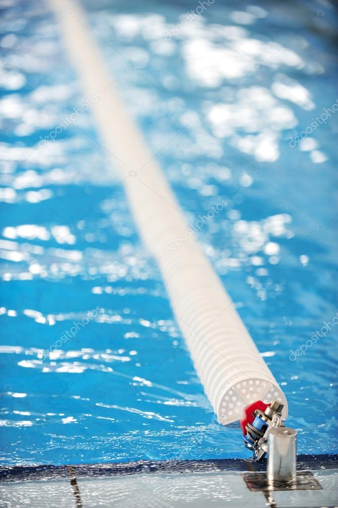 detail with a olympic swimming pool lane divider system photo by roibu - Olympic Swimming Pool Lanes