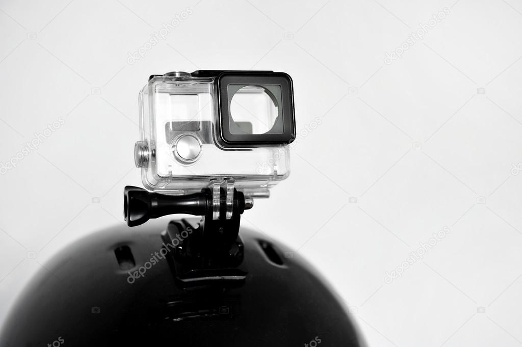 Action camera empty housing