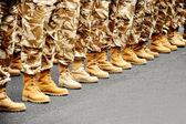 Wüste Tarnung-uniform