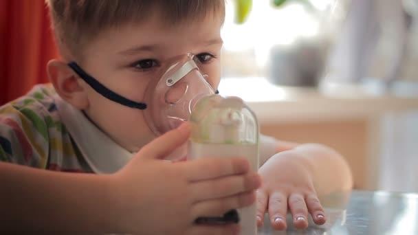 Child with inhaler 8