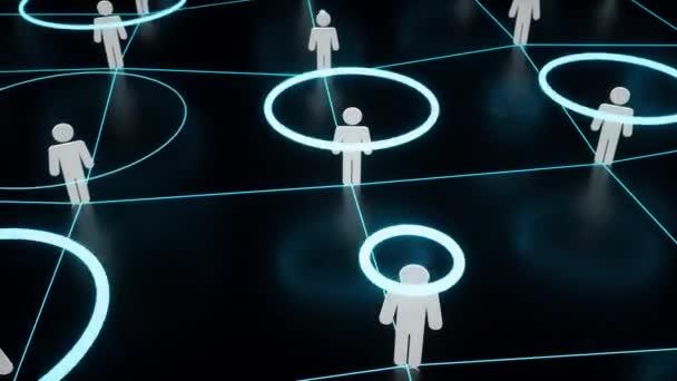 Menschen verbinden 4k