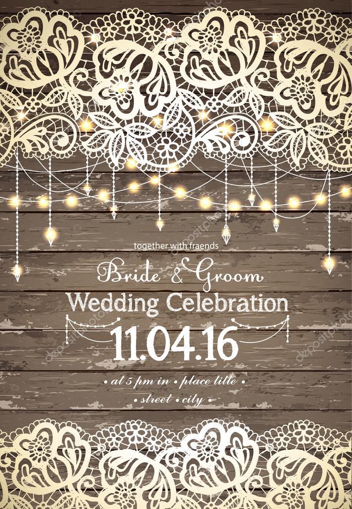 Rustic Vintage Wedding Invitations 014 - Rustic Vintage Wedding Invitations