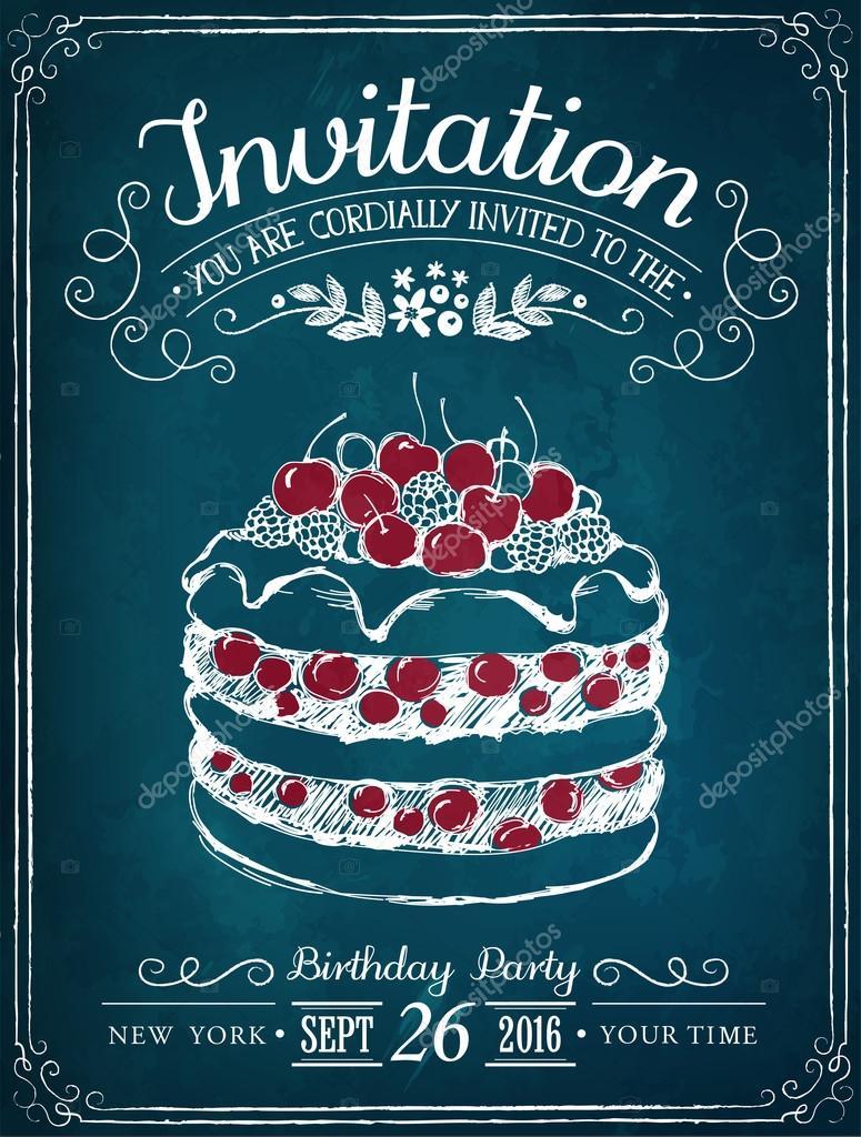 Tarjeta De Invitacion A Un Evento Tarjeta De Invitación