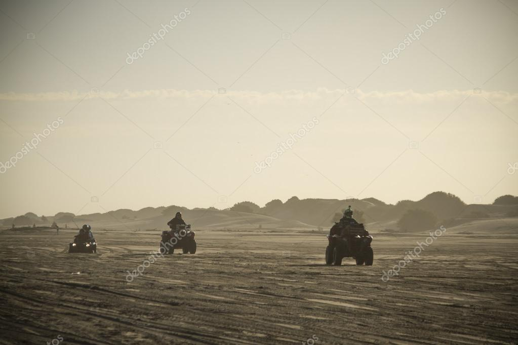 The 3 quads in the beach