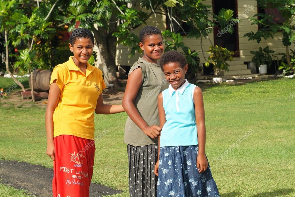Fiji Island People Stock Editorial Photo C Fotofritz