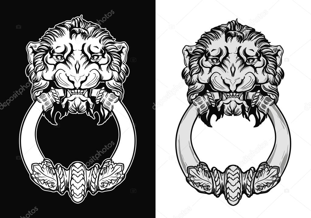Line Drawing Lion Head : How to draw big cats lions tigers cheetahs and much more