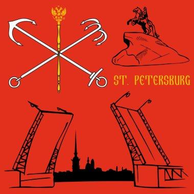 St. Petersburg flag