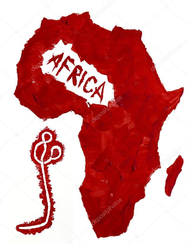 afrika ebola térkép Térkép Afrika és az Ebola vírus — Stock Fotó © Ondrooo #58504965 afrika ebola térkép