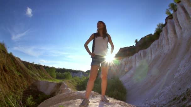 Wanderin im Grand Canyon