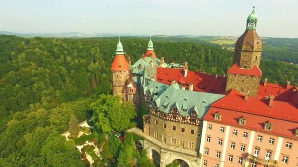 Medieval Castle Ksiaz in Walbrzych