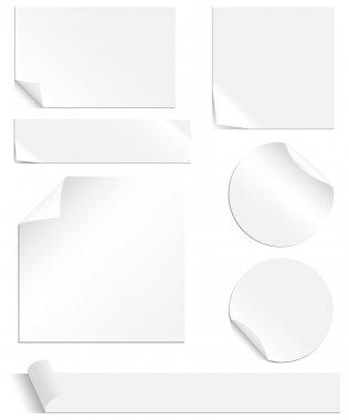 White Labels Set