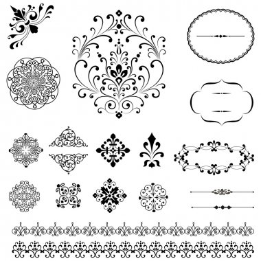 Ornaments & Borders Set