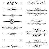 Typografické ornamenty  linkování