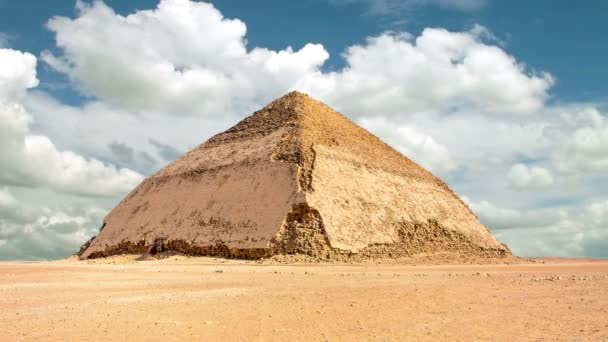 Timelapse of the Bent Pyramid in Dahshur