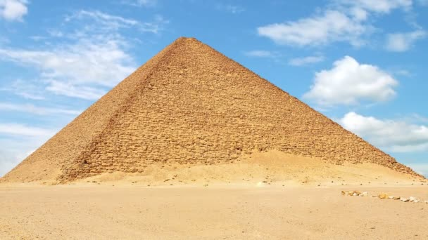 Timelapse of the Red (North) Pyramid in Dahshur